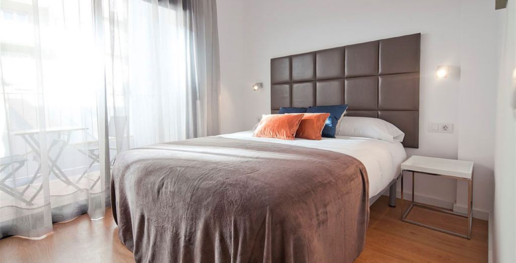 Appartement 2 : La chambre