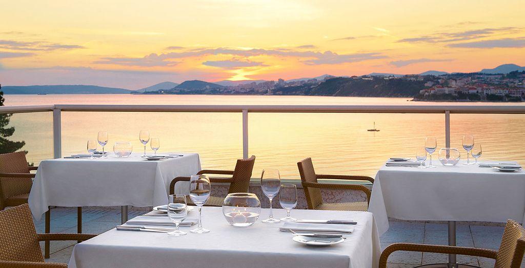 Un dîner romantique...