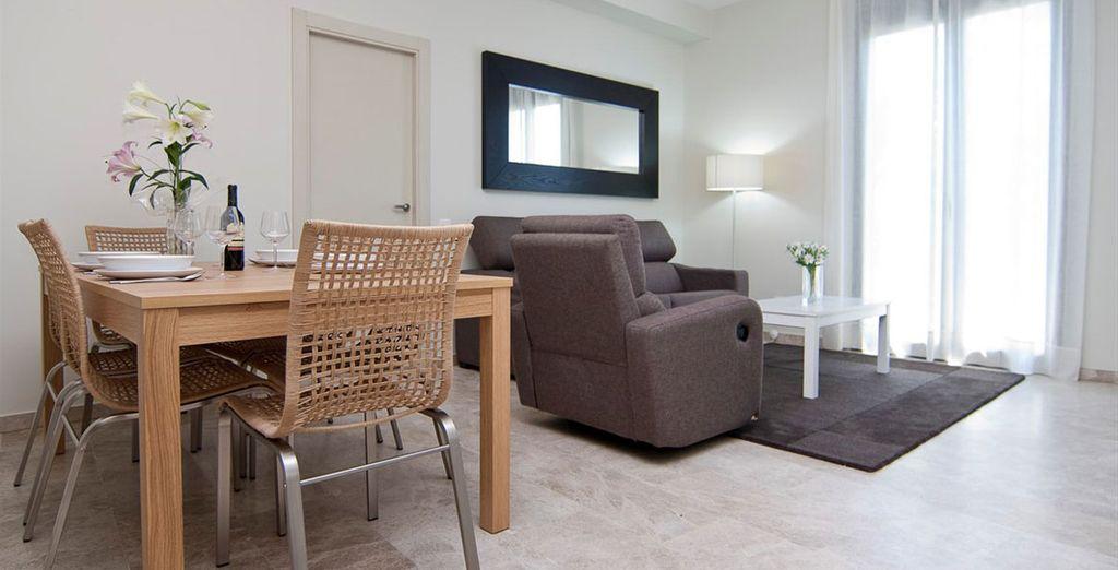 Appartement 6 : La salle-à-manger