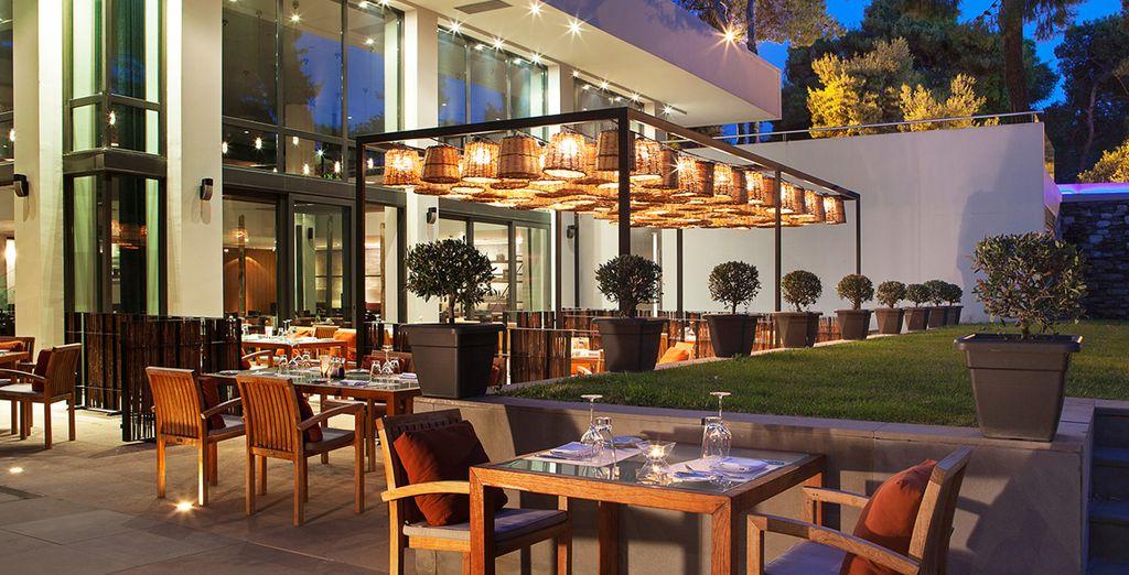 Une des meilleures tables d'Athènes