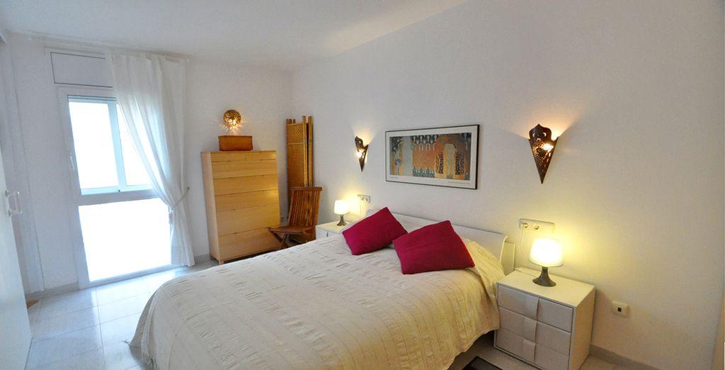 Votre chambre avec lit double