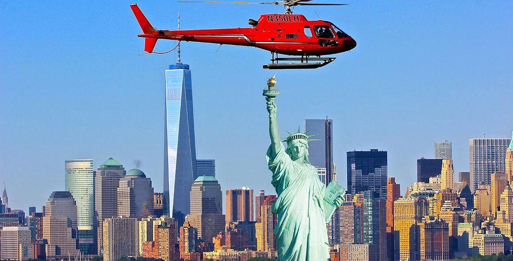 Survolez la majestueuse New-York à la découverte des sites les plus emblématiques