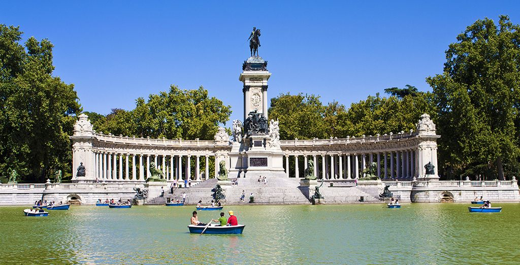 à proximité du Parc Retiro - Hôtel Vincci Soma 4* Madrid