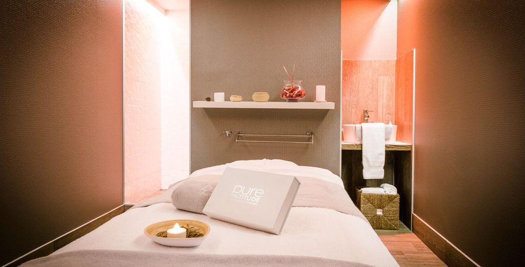 Offrez-vous un massage au Spa