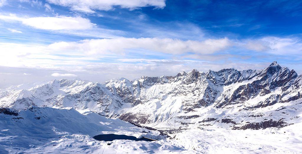 Vous aimez skier entouré de paysages d'exception ? - Hôtel Europa 4*  Cervinia
