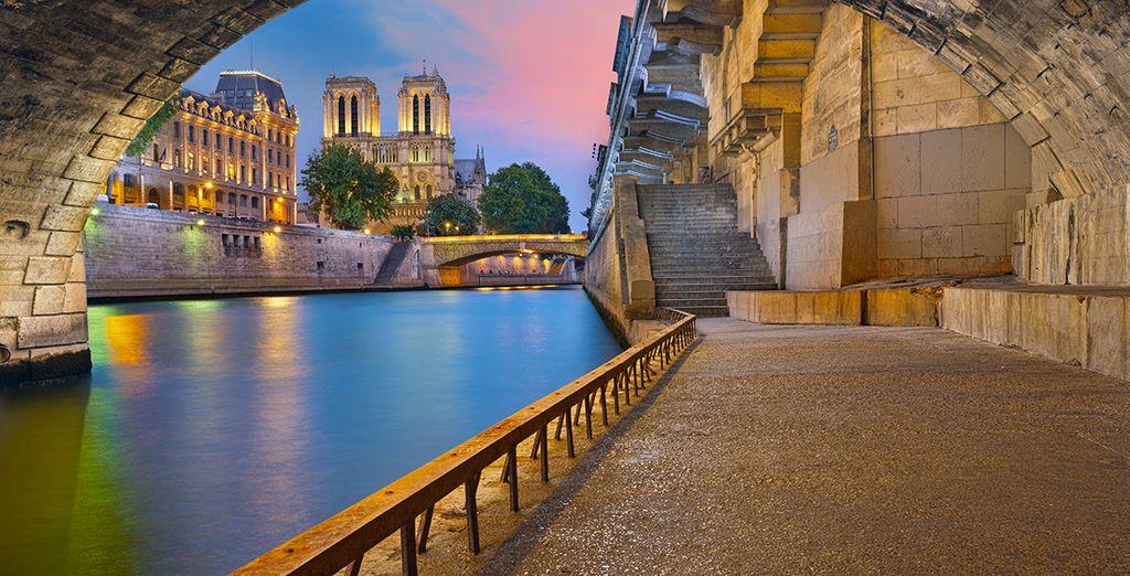 Baladez-vous aussi sur les quais de Seine...