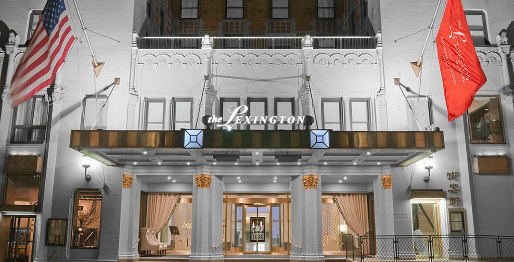 Plus exactement au Lexington Hotel