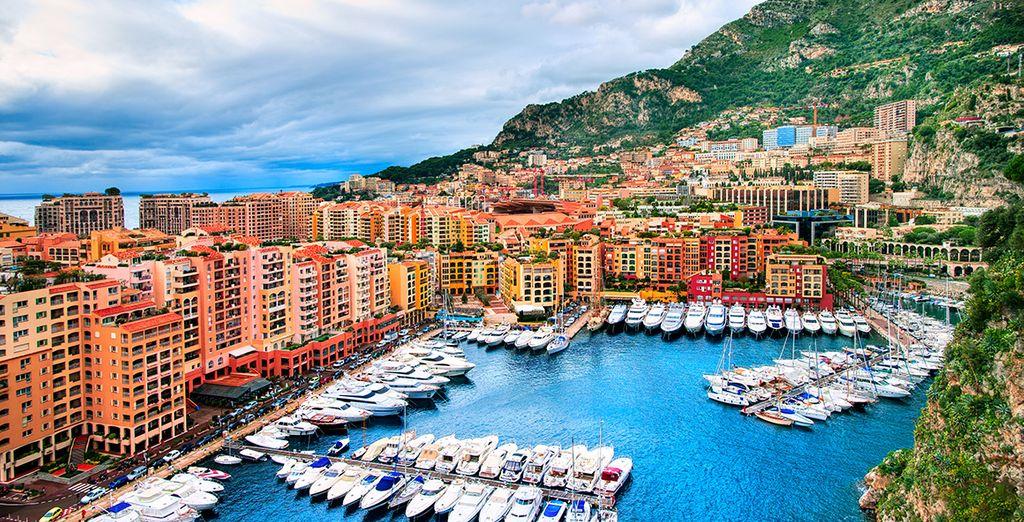 ... et les ports de la Côte d'Azur