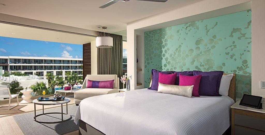 Installez vous en Allure Junior Suite Tropical View