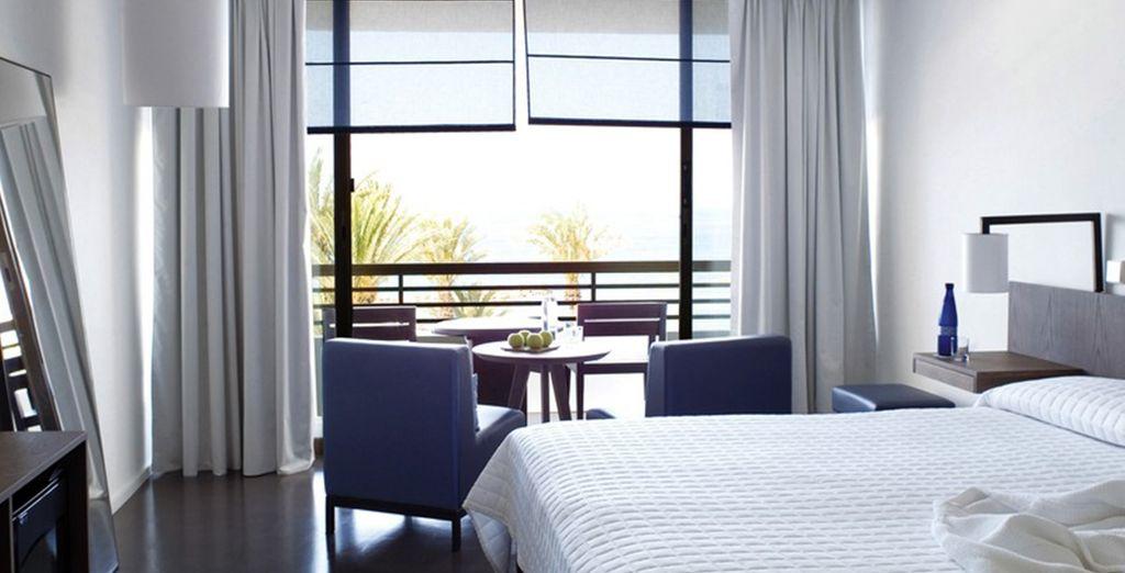 Logé en chambre Standard, vous apprécierez la qualité des prestations de ce superbe hôtel