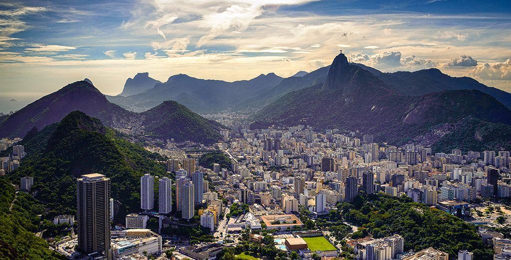 Avant de prendre la direction de Rio de Janeiro