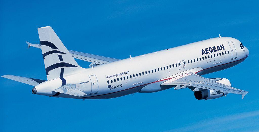 Choisissez de rejoindre votre destination avec la compagnie Aegean Airlines