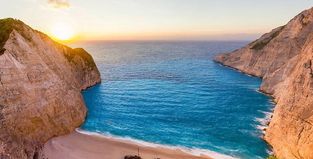 Bienvenue dans la majestueuse Grèce !