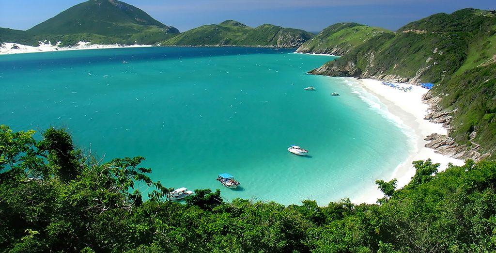 Vous irez également à la découverte de 2 splendides îles dans la Baie de Salvador