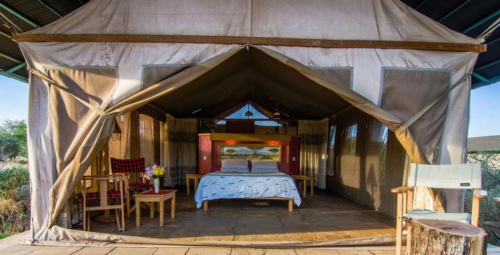 Hébergement haut de gamme au Kenya