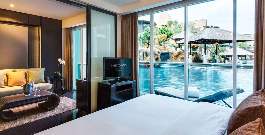 Installez-vous confortablement en Suite Cabana