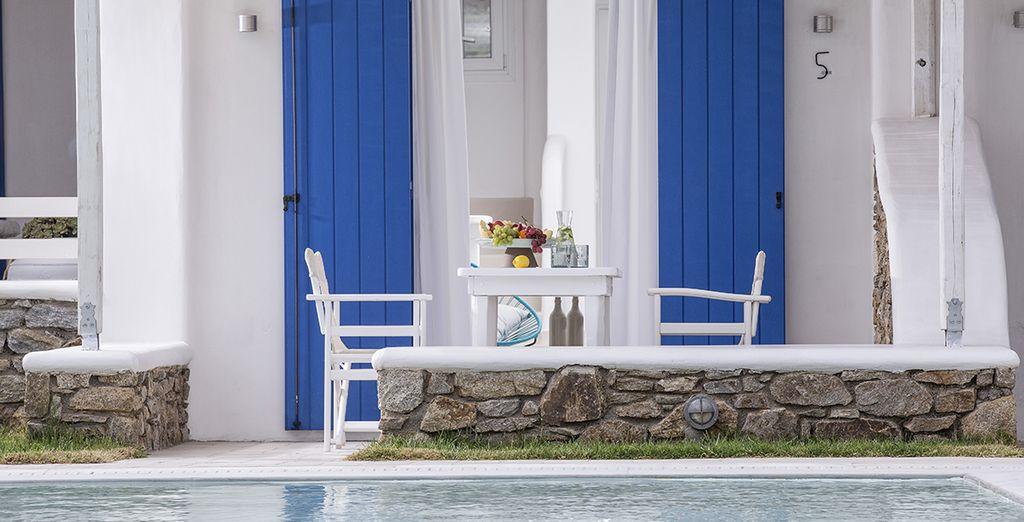 Pourquoi ne pas prendre vos petits-déjeuners sur votre terrasse ?