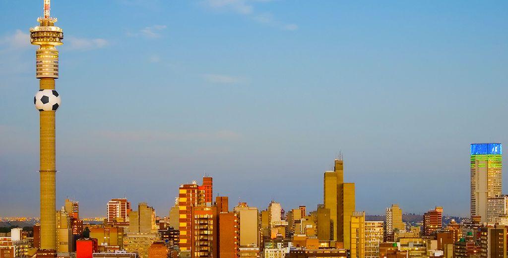 et de Johannesburg !