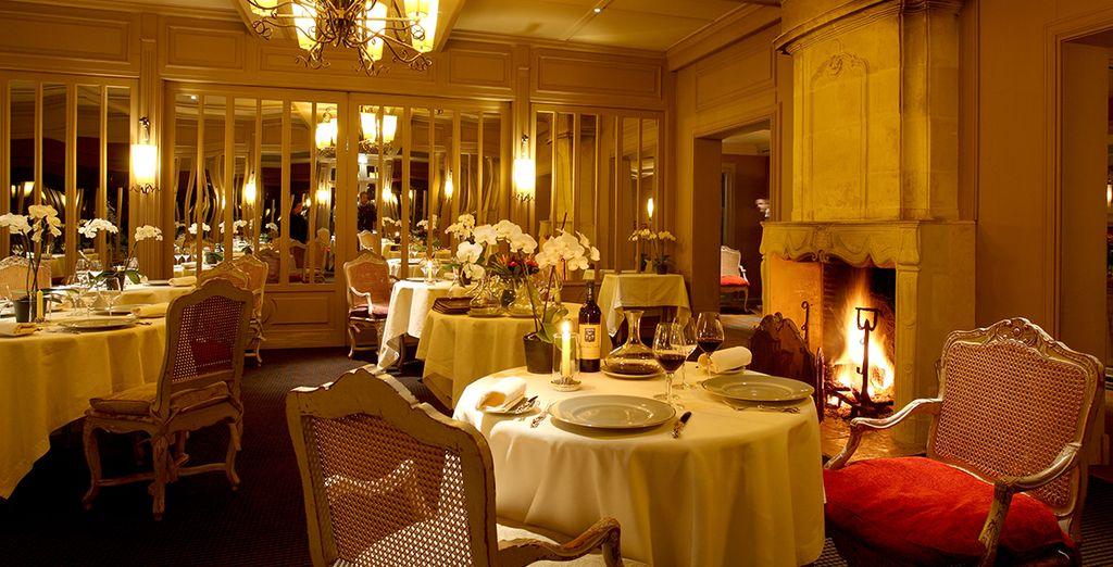 Au restaurant la Grand'Vigne, une table étoilée au guide Michelin