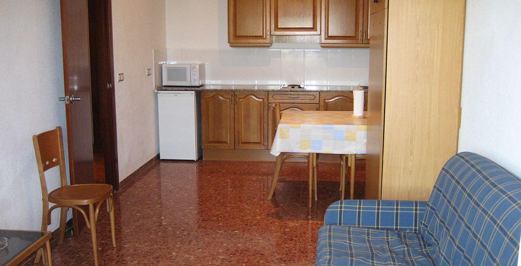 Installez-vous dans des appartements confortables