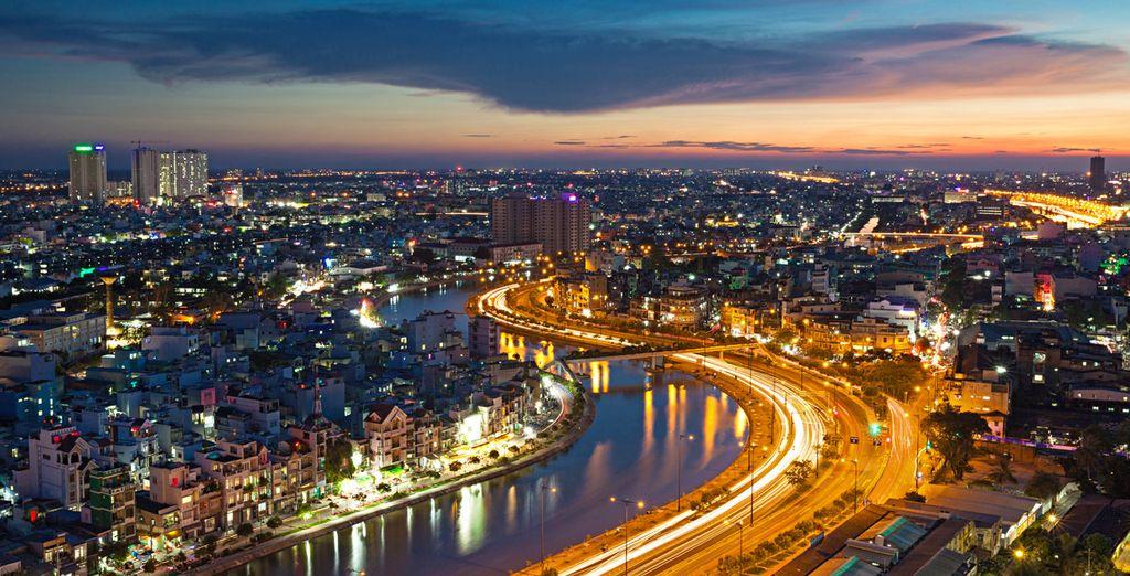 Devenue une ville moderne et dynamique