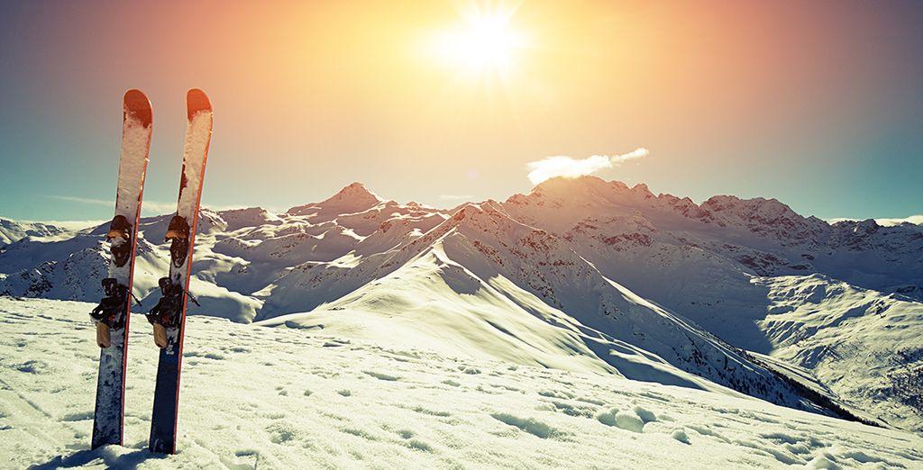 Au pied des pistes, pour de superbes journées enneigées