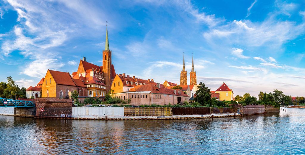 Envolez-vous pour Wroclaw, la Venise polonaise