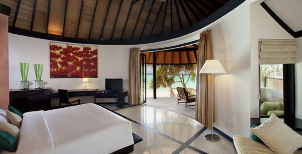 La Beach Villa - Hilton Maldives Iru Fushi Resort & Spa ***** - Male - Maldives Malé