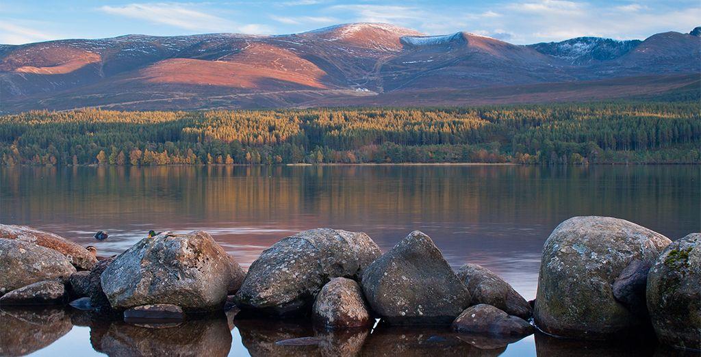 Tandis que le Parc National de Cairngorms représentera un terrain de jeu idéal pour les amoureux de nature