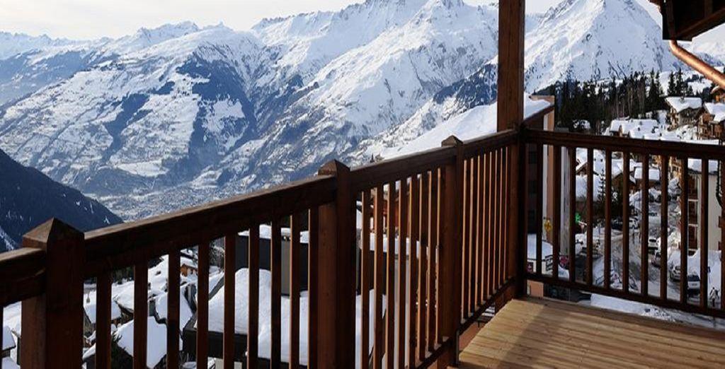 d'où vous aurez une superbe vue sur les montagnes