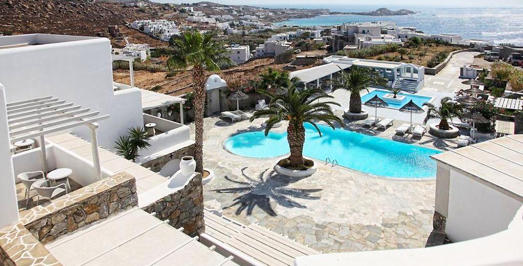 Vous rêvez d'un séjour d'exception dans les îles grecques ? - Palladium Boutique Hotel 5* Mykonos
