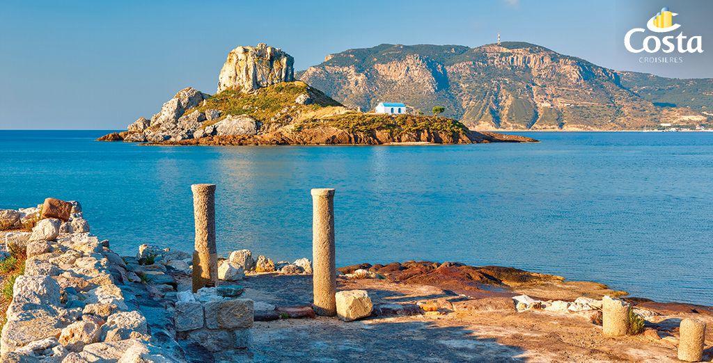 Offrez-vous les plus beaux sites de la côte égéenne...