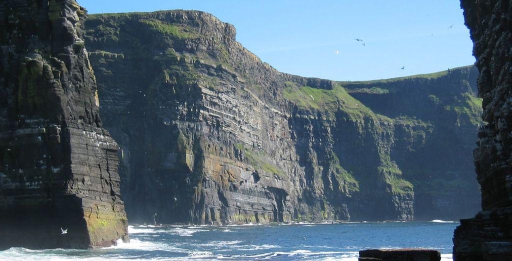 Bienvenue en Irlande, terre de nombreuses merveilles naturelles...