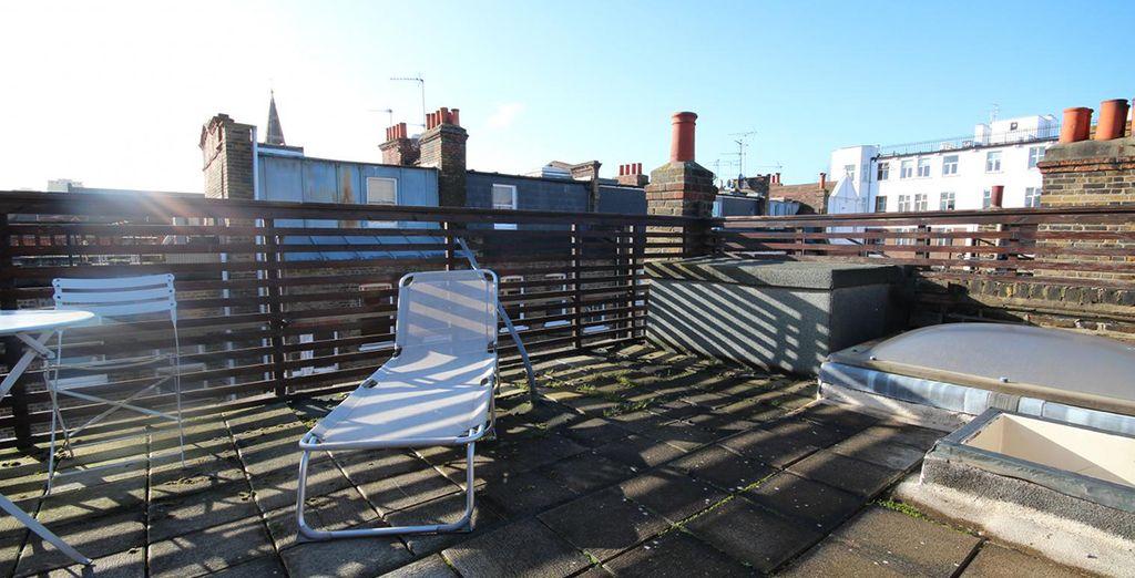 Votre terrasse sur le toit