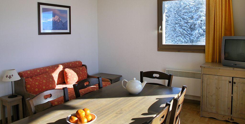 Découvrez votre espace décoré avec charme, authenticité et entièrement équipé