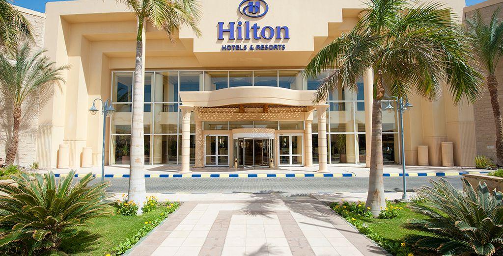 L'hôtel Hilton Resort Hurghada 5* vous accueille - Combiné Hilton Resort Hurghada 5* & croisière sur le Nil Hurghada