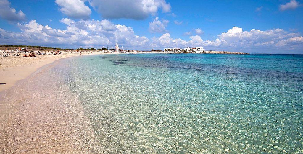 Ses plages de sable fin...