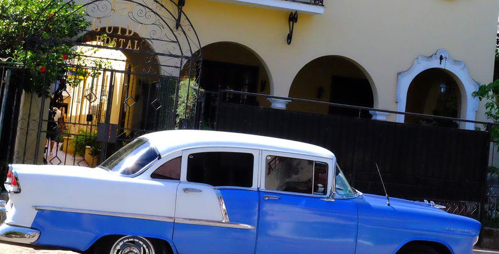 Prenez votre transfert privatif en voiture ancienne