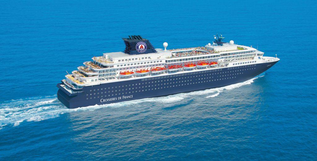 Et si on vous emmenait naviguer sur la Méditerranée à bord d'un majestueux paquebot ? - Croisière de France à bord de l'Horizon ou du Zénith Marseille