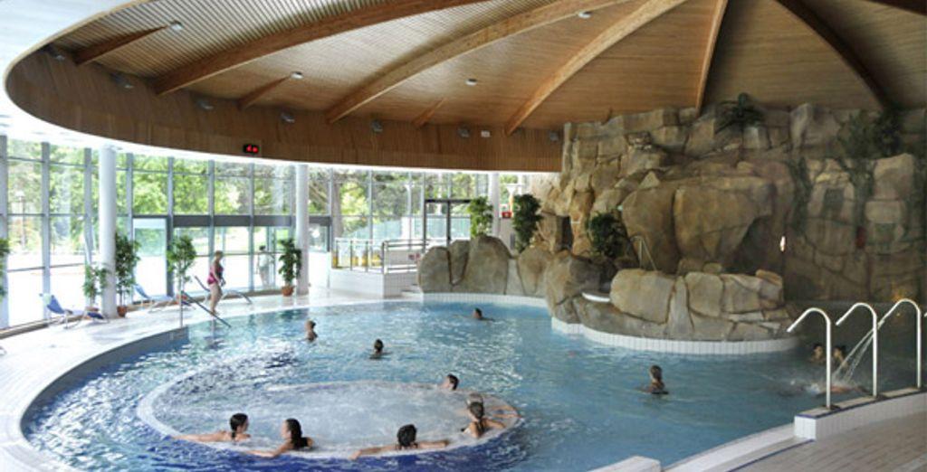 L'espace aquatique du Parc Royatonic