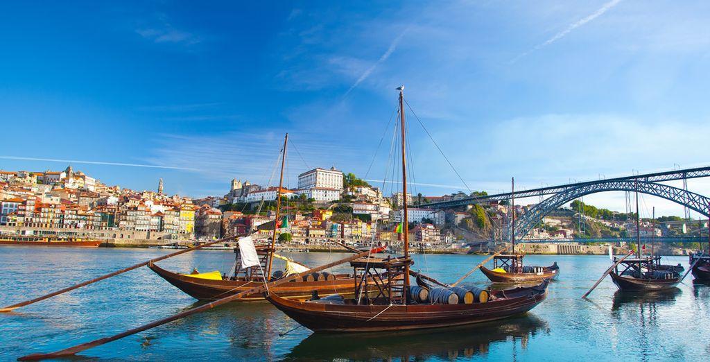 Et enchanté par les richesses de Porto