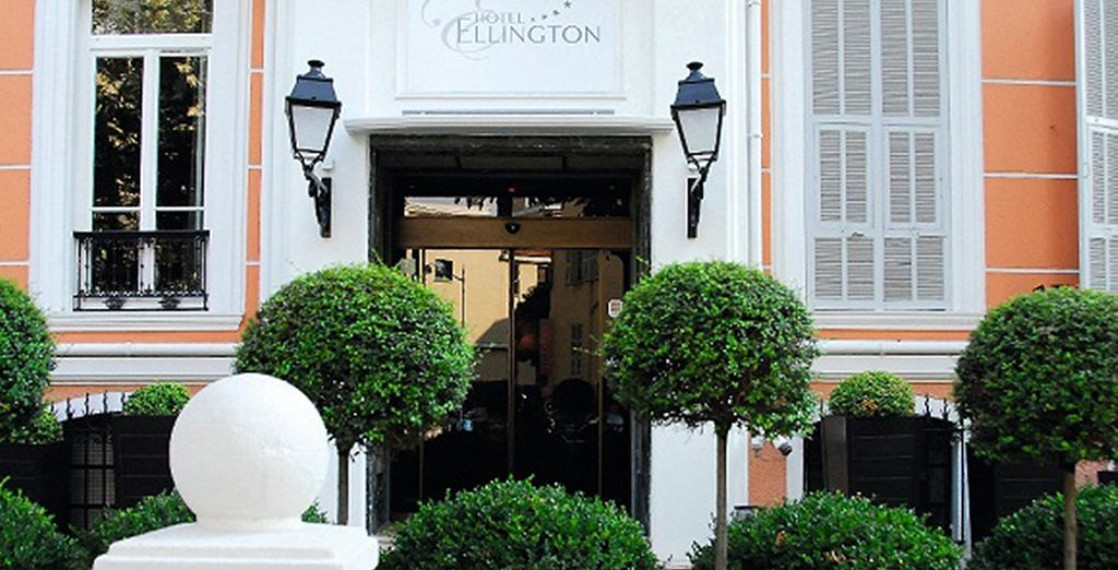 A l'hôtel Ellington Nice 4*