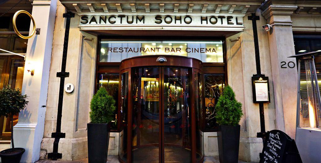 Poussez les portes du Sanctum Soho Hotel 5*