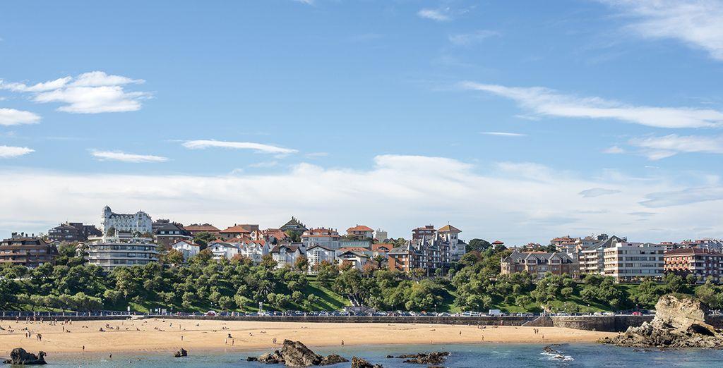 Face à l'océan dans la baie de Santander