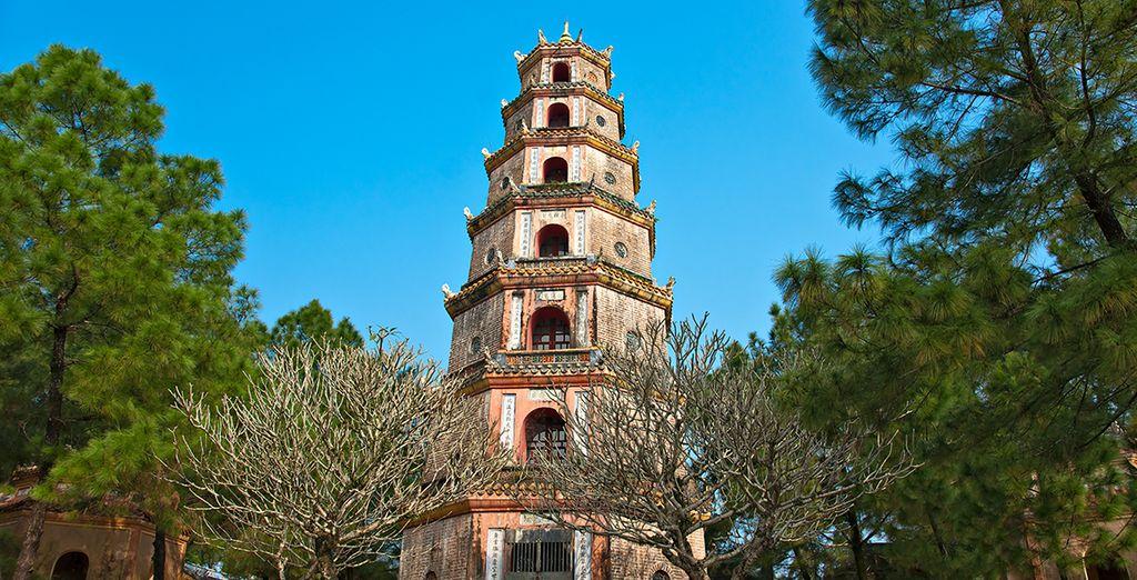 Entre pagodes à Hue
