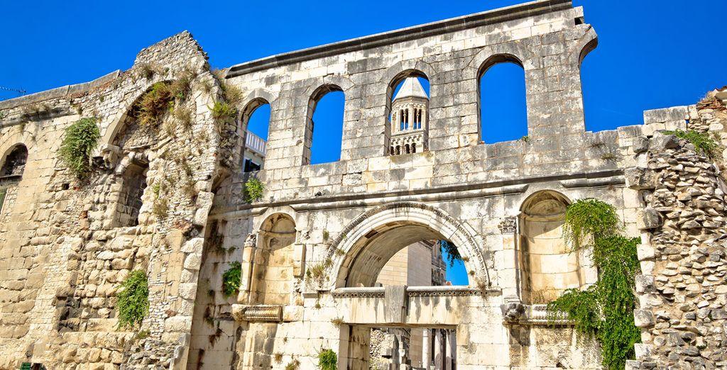 Visitez Split et son centre historique...