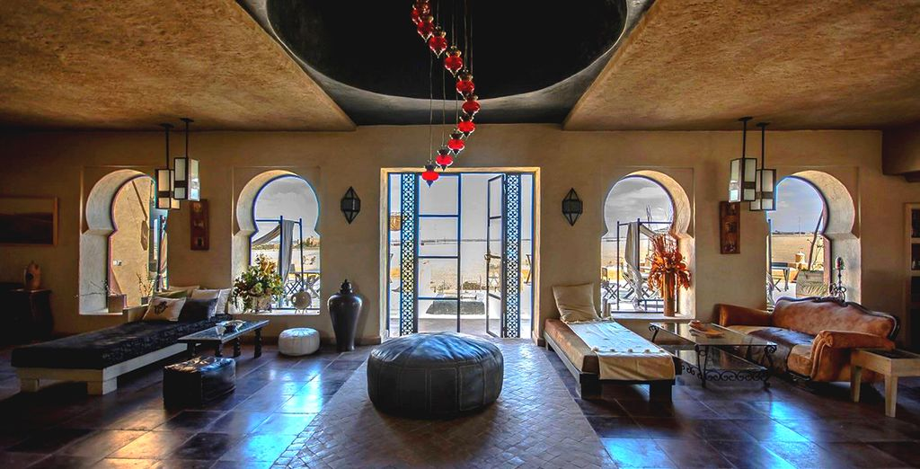 Le Shems Moon Suites & Spa vous accueille dans un décor soigné...