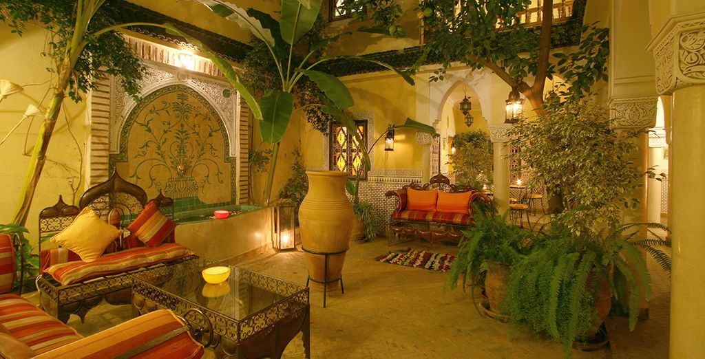 Commencez votre immersion marocaine au Riad Harmonie