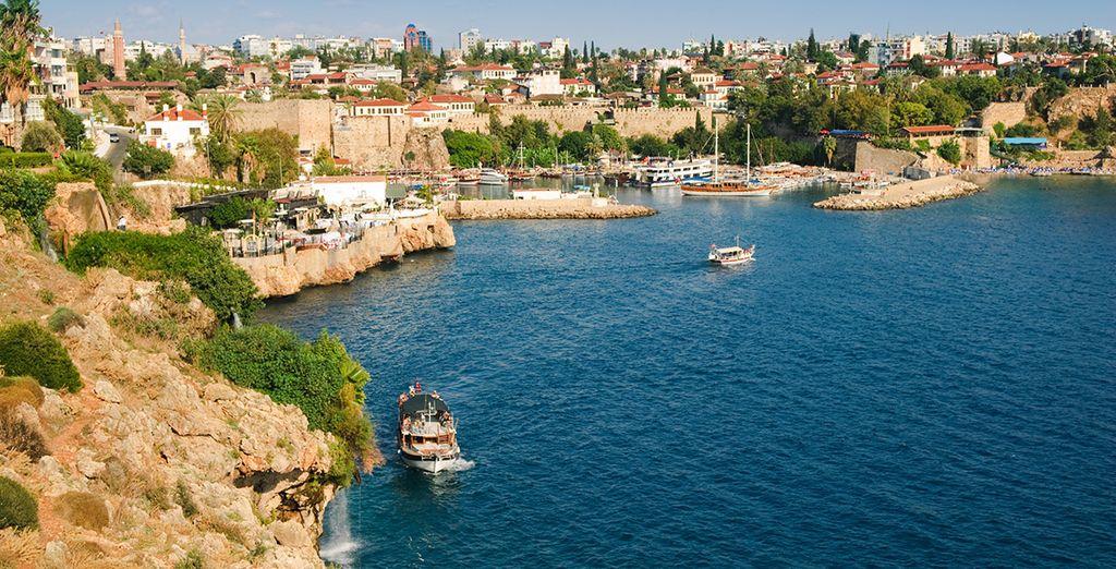 N'hésitez plus et suivez-vous à 40 kilomètres d'Antalya