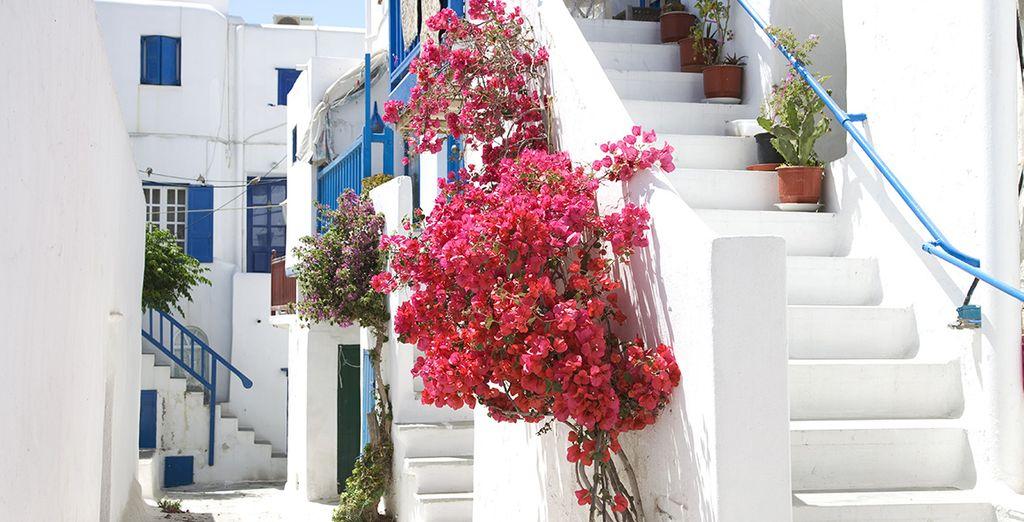 Sillonnez les ruelles de Mykonos
